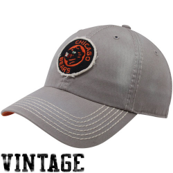 4d9cc88d2  47 Brand Chicago Bears Dreadnought Throwback Franchise Fitted Hat - Gray