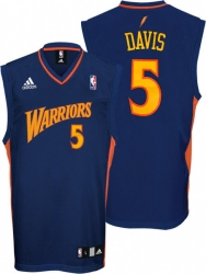 344eb1361 Baron Davis Youth Jersey  adidas Blue Replica  5 Golden State Warriors  Jersey