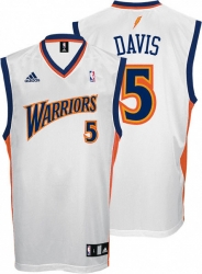 15cec5eb6 Baron Davis Youth Jersey  adidas White Replica  5 Golden State Warriors  Jersey