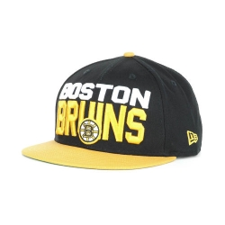 61bdc038e77 Boston Bruins New Era NHL Big Hit Snapback Cap