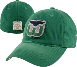 78794d5c8c4a5 Hartford Whalers Mitchell   Ness The Script Is In 2-Tone Snapback Hat