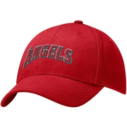 online store a308e 117d9 Los Angeles Angels Of Anaheim Hat   Nike Los Angeles Angels Of Anaheim Red Swoosh  Flex Fit Hat