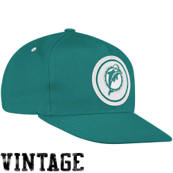 2028deafb0b ... top quality mitchell ness miami dolphins throwback basic vintage logo snapback  hat coral e4688 60afd