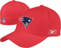 c6a989cfbb2 Reebok New England Patriots Black Structured Flex Hat