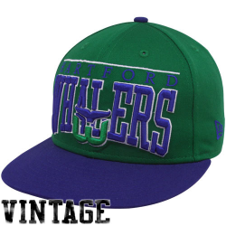 a37523c0f154c New Era Hartford Whalers Green 9FIFTY Vintage Le Arch Snapback Adjustable  Hat