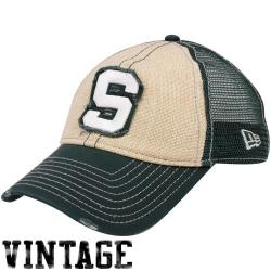 best authentic 4c805 4da7b Michigan State Spartans Youth Dark Green New Era Jr. Hidden Element Flex Hat