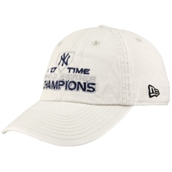 8fdfb72c6fa87 New Era New York Yankees Stone 2009 World Series Champions 27-Time Champions  Adjustable Slouch Hat