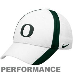 458ca9f9 Nike Oregon Ducks White Legacy 91 Coaches Adjustable Performance Hat