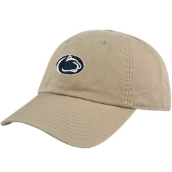dcfe953ac2f ... canada nike penn state nittany lions ladies khaki campus adjustable  slouch hat 796cc a8004