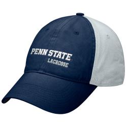 faf9bdcf7be81 Nike Penn State Nittany Lions Navy Blue Lacrosse Heritage 86 Mesh Back Flex  Hat