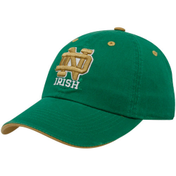 outlet store 30a3a f07ba Top of the World Notre Dame Fighting Irish Green Crew Adjustable Hat