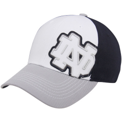 149474526a702f Top of the World Notre Dame Fighting Irish Ladies Adjustable Cadet Hat - Navy  Blue
